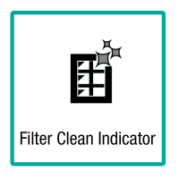 Filter Clean Indicator